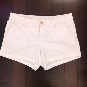 Lilly Pulitzer white Callahan shorts